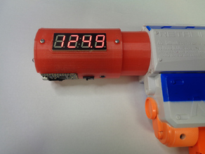 Nerf Barrel Adapter for Chronograph