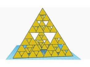 Lvl3 Sierpinsky Pyramid