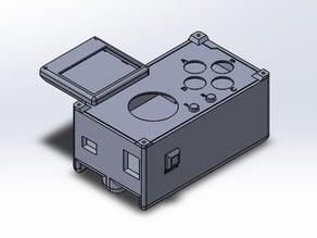 Arduino Leonardo with joystick shield case