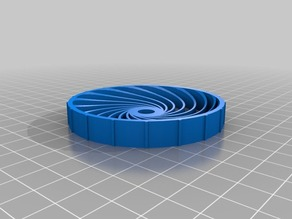 Parametric airless tire with cutout