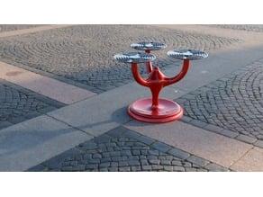 Flower pedestal 3 and 4 arm version