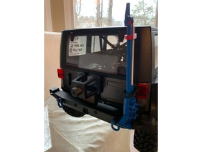 1/10 Scale Jeep Wrangler Spare Tire Carrier