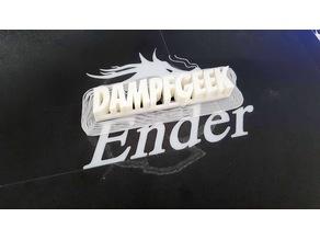 Mini DampfGeek Name Plate