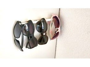 Sunglasses Holder for double sided Tape mount (no screws)
