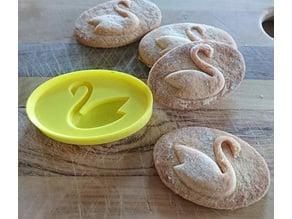 Swan Cookie cutter