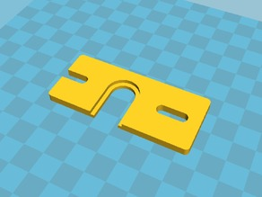 Hot end mount plate for e3d v5 and Greg's wade extruder