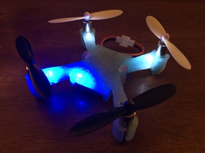 Battery Clip for 3D printed Hubsan X4 Frame