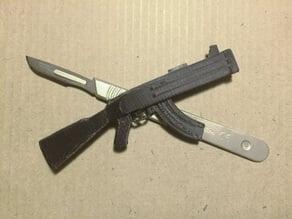 AK47 Scalpel Blade Cover