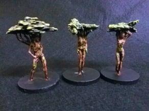 Three Tree Nymphs