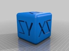 XZY CUBE 100MM 10MM FILLET EDGE