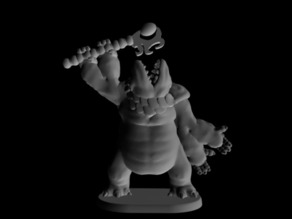 Gug Sorcerer (18mm scale)