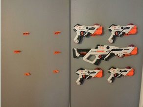 Nerf Laser Ops Wall Mounts