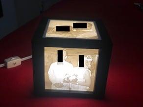 Lithopane box