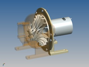 Turbine Blower for 540-sized Motors