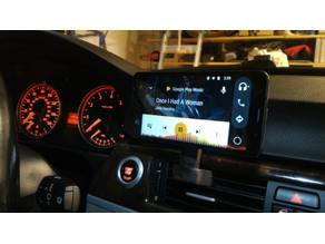 Mobile Phone Vent Mount for BMW vehicles