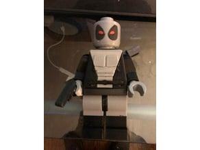 Giant Lego Deadpool X-Force