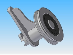 Ultimaker 2 Filament Guide (With bearing)