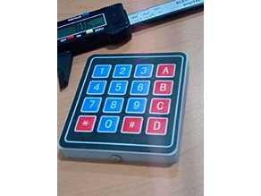 Arduino 3x4 & 4x4 Keypad Case