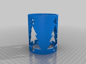 Christmas Tree Candle Sleeves