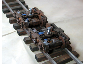 Narrow Gauge Powered Bogie Set