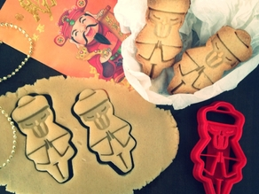 Chinese Man Cookie Cutter
