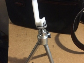 iPhone 5S Tripod mount for use with iPhone case reworked