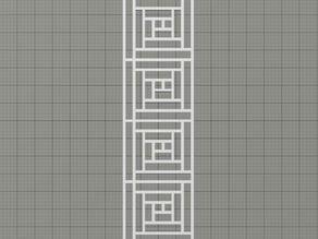 Geometric Cutout Bookmark
