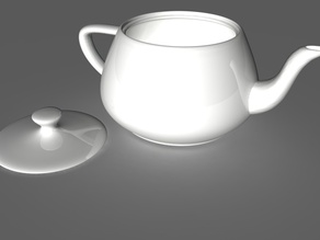 Utah Teapot (teaproof version)