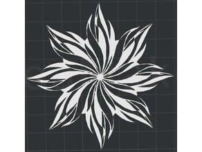 Flower 2D Wall Art