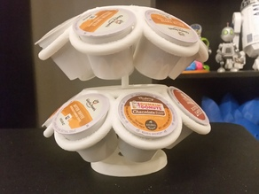 Spinning K-Cup Holder