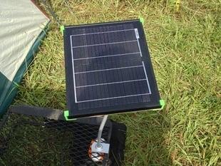 Adjustable Solar Panel Mount w/ Control Box Mount