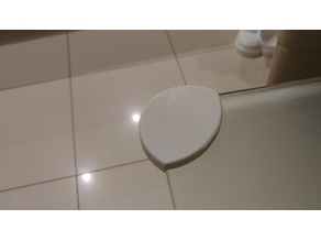 Corner protector for 8mm thick glass table (Child protection)
