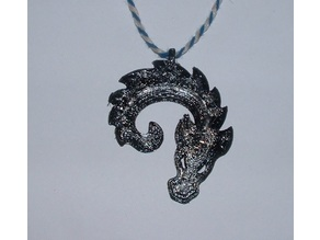 Baby Dragon Pendant