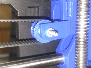 X-axis prusa i3 623 pulley