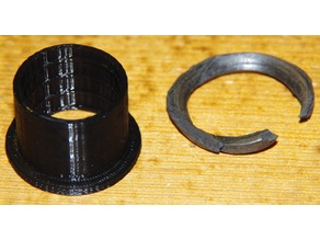 Dumbbell weight plate bushing