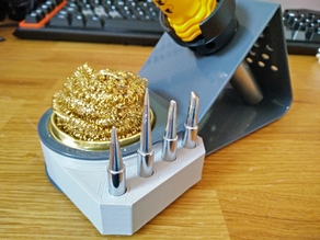 Soldering Iron Tip Stand