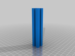 Fractional T-Slot (20x mm) OpenSCAD Library