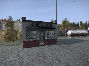 DayZ Gas / Fuel Station Shop