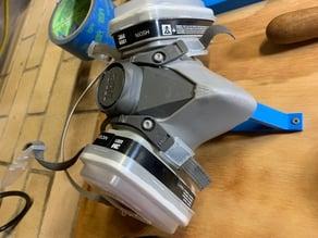 3M dust mask / respirator holder