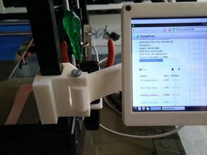 Rigidbot Clamp for Monitor Holder and Display Housing