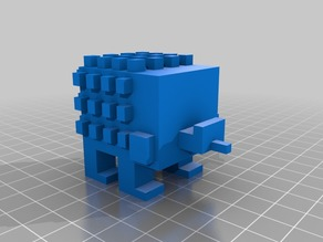 Crossy Road Hedgehog