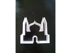 Mosque cookie cutter