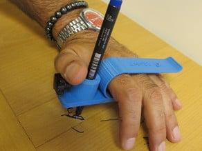 Pinza de mano / hand held clip