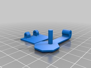 Stop button with Hinge