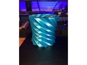 Twisted Vase Pencil Holder