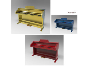 Piano Miniature toy