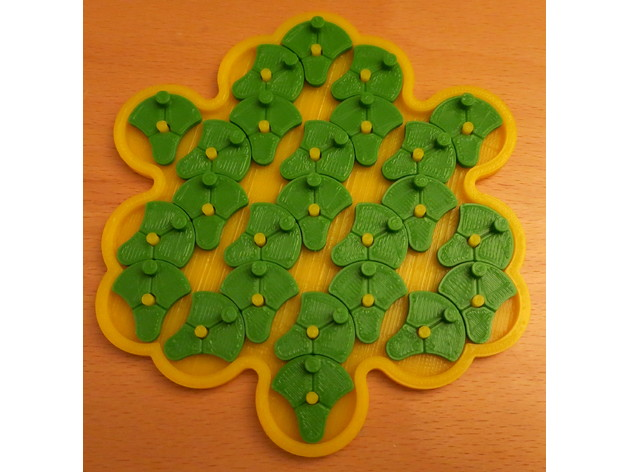 25 Lotus Flowers Puzzle By Bneedhamia Thingiverse