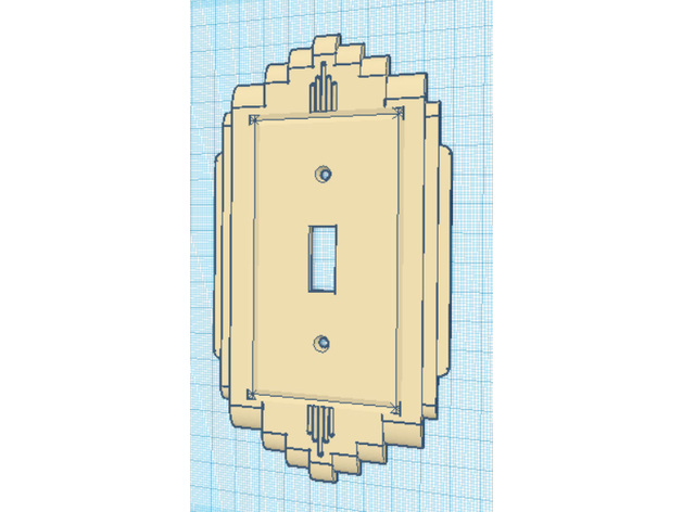15 Types 1940s Vintage Retro Art Deco Lightswitch Cover Wall Plate