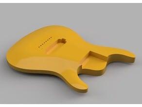 8 String Guitar Body