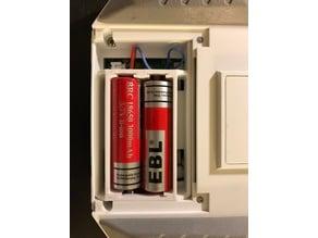 Q X7 18650 battery tray